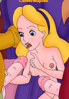 alice in wonderland porn